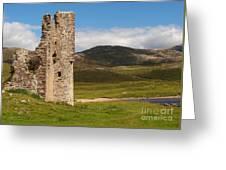 Ardvreck Castle Landscape Greeting Card