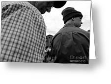 Are We Blocking Your View ? Greeting Card