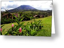 Arenal Costa Rica Greeting Card