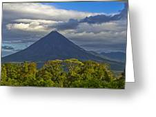 Arenal Volcano Greeting Card
