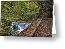 Areuse Gorge Greeting Card