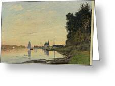 Argenteuil Late Afternoon Greeting Card