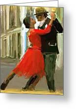 Argentina Tango Greeting Card