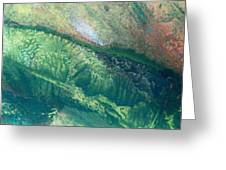 Ariel View Of Venus Greeting Card