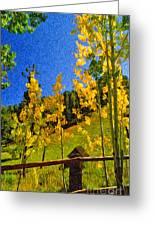 Arizona Autumn Ver 2 Greeting Card