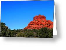 Arizona Bell Rock Hdr Greeting Card
