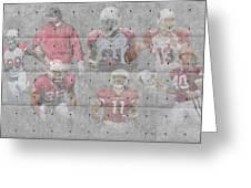 Arizona Cardinals Legends Greeting Card