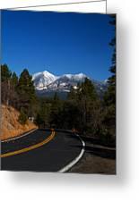 Arizona Country Road  Greeting Card