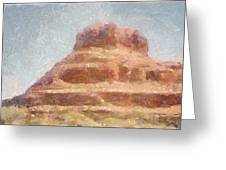 Arizona Mesa Greeting Card