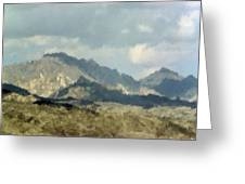 Arizona Mountains Greeting Card