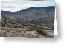 Arizona Mountains Greeting Card