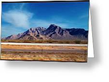 Arizona - On The Fly Greeting Card