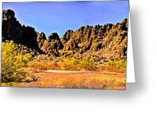 Arizona Panorama Organ Pipe Greeting Card