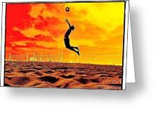 Arizona Rising Greeting Card by Scott Allison