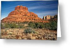 Arizona Sedona Bell Rock  Greeting Card