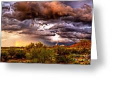 Arizona Sunset 5 Greeting Card