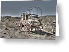 Arizona Wagon Greeting Card