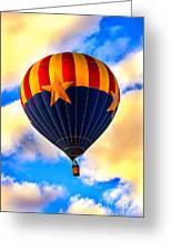 Arizonia Hot Air Balloon Special Greeting Card