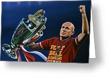 Arjen Robben Greeting Card