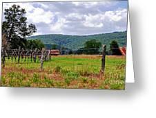 Arkansas Farmland Greeting Card