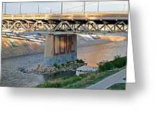 Arkansas River Walk Greeting Card