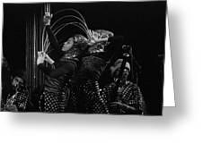 Arkestra Dancers 1 Greeting Card
