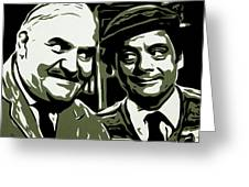 Arkwright And Granville Greeting Card