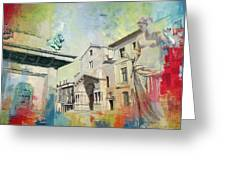 Arles Roman And Romanesque Monuments Greeting Card