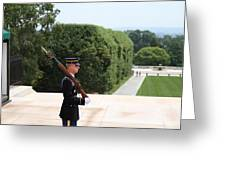 Arlington National Cemetery - Tomb Of The Unknown Soldier - 01135 Greeting Card by DC Photographer