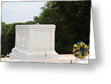 Arlington National Cemetery - Tomb Of The Unknown Soldier - 01136 Greeting Card by DC Photographer