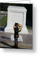 Arlington National Cemetery - Tomb Of The Unknown Soldier - 121212 Greeting Card