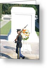 Arlington National Cemetery - Tomb Of The Unknown Soldier - 121214 Greeting Card