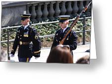 Arlington National Cemetery - Tomb Of The Unknown Soldier - 121223 Greeting Card by DC Photographer