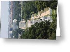 Arlington National Cemetery - View From Arlington House - 12125 Greeting Card