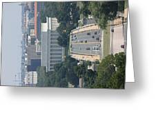 Arlington National Cemetery - View From Arlington House - 12126 Greeting Card by DC Photographer