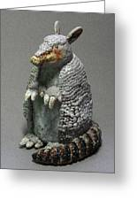 Armadillo Greeting Card
