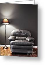 Armchair And Floor Lamp Greeting Card