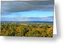 Armorican Landscape Greeting Card by Olivier Le Queinec