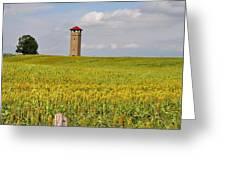 Army War College Tower Antietam Greeting Card