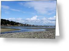 Arness Park Beach Greeting Card