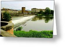 Arno River 1 Greeting Card