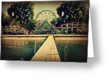 Arnolds Park Greeting Card