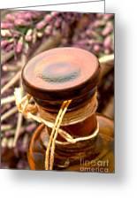 Aromatherapy Bottle Greeting Card