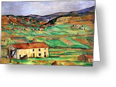 Around Gardanne By Cezanne Greeting Card