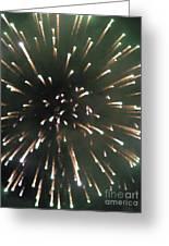 Around The Fourth Fireworks II Greeting Card