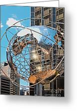 Around The World In Nyc Greeting Card