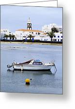 Arrecife On Lanzarote Greeting Card
