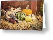 Arrival Of Autumn Greeting Card