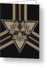 Arrow Of Jewels Greeting Card