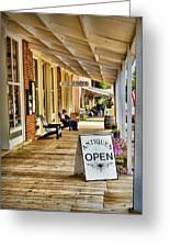 Arrow Rock - Boardwalk Shops Greeting Card